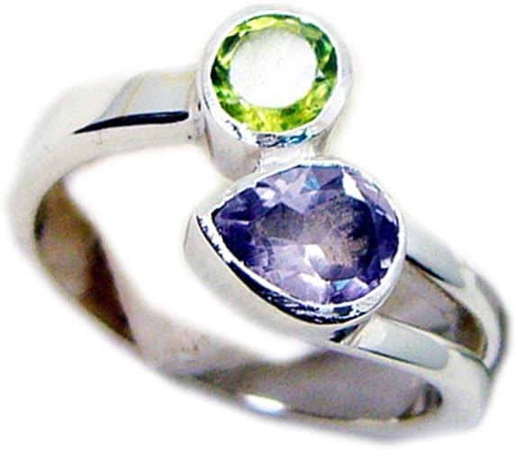 Natural Astrology Gemstones Ring For Men Women In Silver Size 5,6,7,8,9,10,11,12