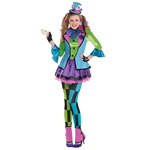 Teen Sassy Mad Hatter Costume (Age 10-12 years)