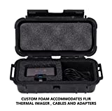 CASEMATIX Waterproof Thermal Imager Case Compatible