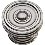 "Concord Mushroom Knob Finish: Black Nickel Vibed, Size: 1.63"" H x 1.63"" W x 1.19"" D"