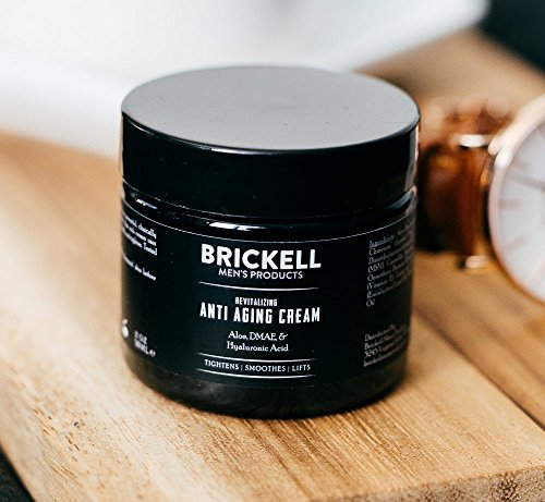 51csaceO8iL - Brickell Men's Revitalizing Anti-Aging Cream For Men, Natural and Organic Anti Wrinkle Night Face Cream To Reduce Fine Lines and Wrinkles, 2 Ounce, Unscented