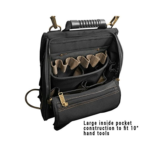 Review CLC Custom Leathercraft 1509 21-Pocket Zippered Professional Electricians Tool Pouch