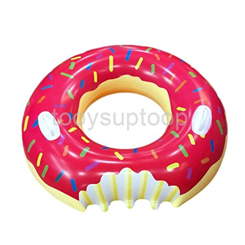 shalleen-80cm-inflatable-giant-donut-floating-swim-ring-tyre-tube-beach-swimming-pool-aid-toys