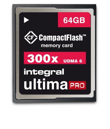 (Integral Ultima-Pro Compact Flash 300X 64GB Card INCF64G300W )