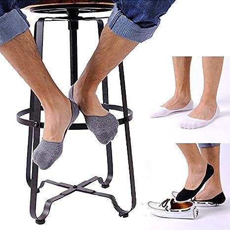DEELIN 1 Par Hombre Delgada Boca Poco Profunda Barco Invisible Deportes AlgodóN Slip Calcetines: Amazon.es: Ropa y accesorios