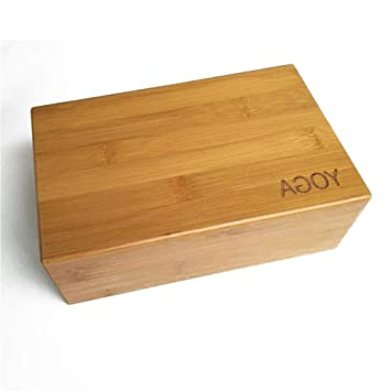 SONSYON Yoga Block - Natural bambú Yoga Blocks Pilates ...
