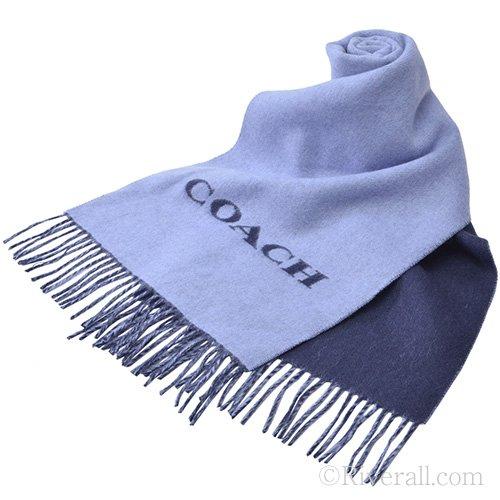 Coach Men's Signature Wool Cashmere Daubble Sided ()