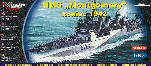 Mirage Hobby HMS Montgomery Koniec 1942 Model Kit