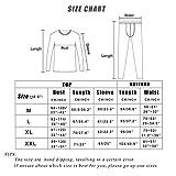Men' s Thermal Underwear Set with Lightweight