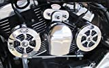INDCRM-1 Love Jugs Cool Master Chrome Engine Cooling System for 2014-Newer Indian Motocycles