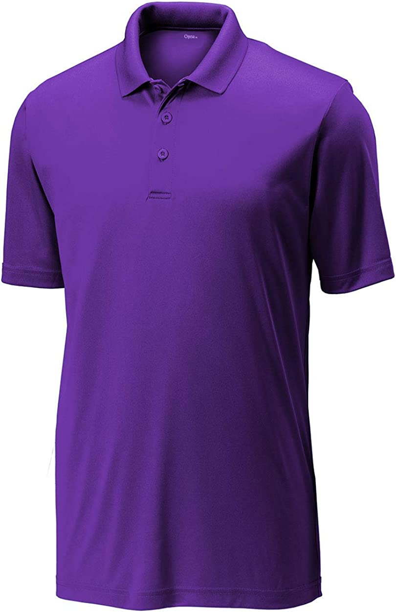 Opna Mens Dry-Fit Golf Polo Shirts