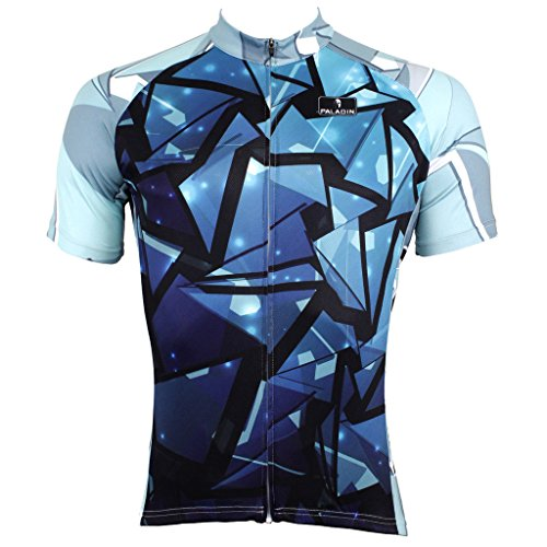 paladinsport-mens-blue-short-sleeve-cycling-jerseys-size-xxl