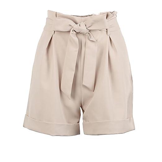 5238c392d7 Inkach - Womens Shorts ❤ High Waist Summer Short Pants with Zipper Pockets  ❤️