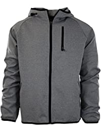 Mens Full Zip Up Warm Up Track Jacket