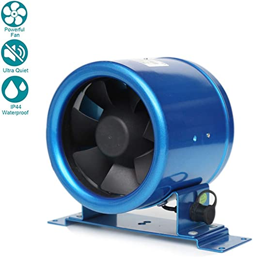 Ø125mm Silent Ventilador Extractor de Aire en Línea Motor de Dos ...