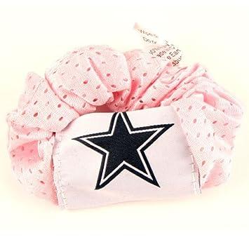 Amazon.com   Dallas Cowboys Pink Hair Scrunchie - Hair Twist - Ponytail  Holder   Cowboys Purse   Beauty 8874757fafc