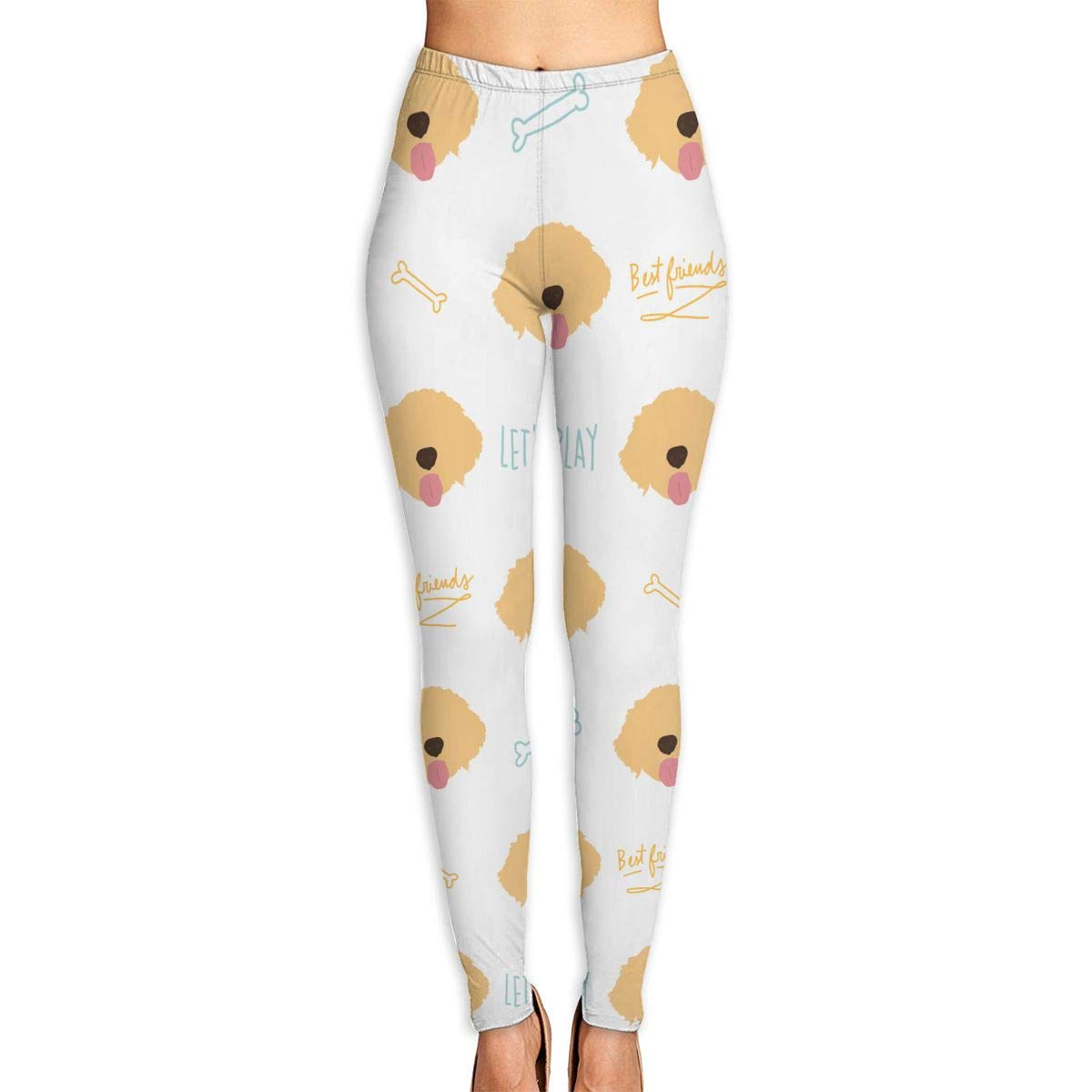 Amazon.com: Women¡¯s Golden Retriever Dog Lab Yoga Pants ...