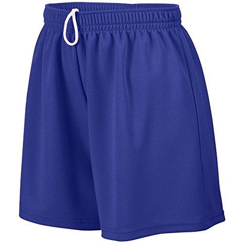 Augusta Sportswear Augusta Ladies Wicking Mesh Short, Purple, -