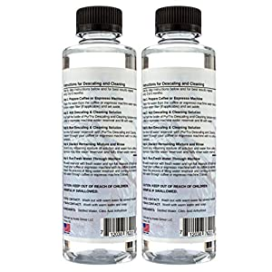 Keurig Descaling & Cleaning Solution (2 Pack) - All Natural Descaler & Cleaner For Bunn, Delonghi, Nespresso And All Drip Coffee, Espresso and Single Cup Machines from PurTru