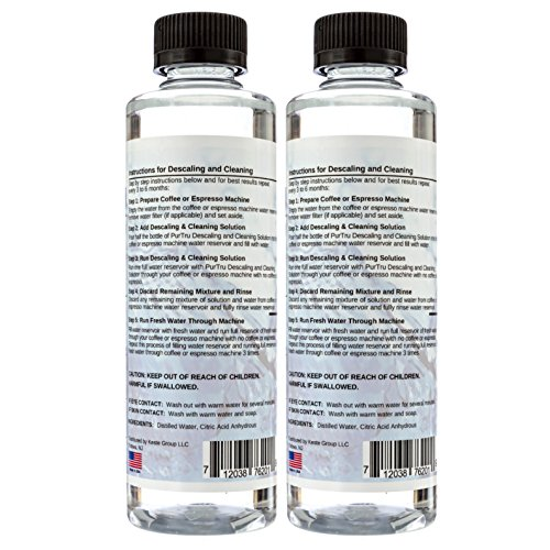 Descaling & Cleaning Solution 2 Pack - All Natural ...