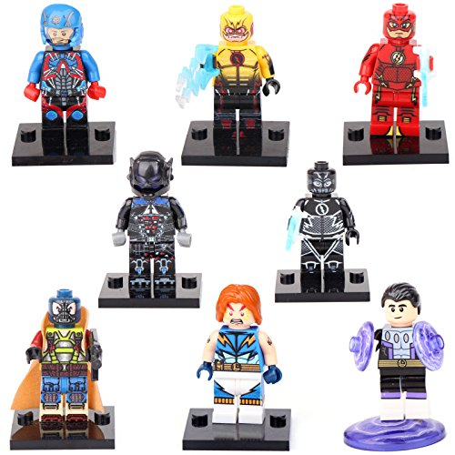 Toddler Diy Ninja Costume (TONGROU Human Reverse Flash 8 Minifigures Building Toys)