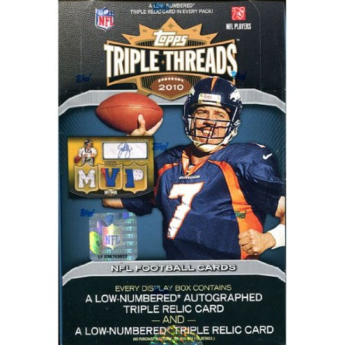 - 2010 Topps Triple Threads Football Box - NFL Football Cards
