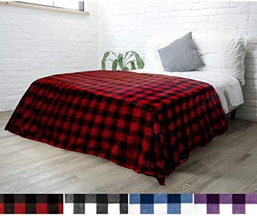 PAVILIA Checkered Decorative Lightweight Microfiber product image