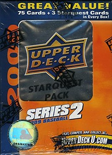 2009 Upper Deck Series 2 Baseball SUPERSTAR JUMBO 10 Box ...