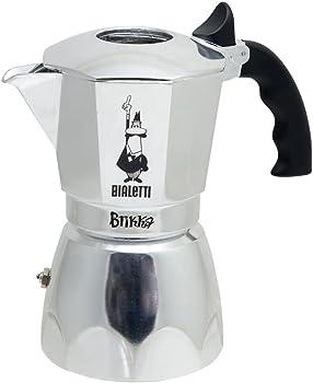Bialetti Brikka Stovetop 4-Cup Espresso Maker