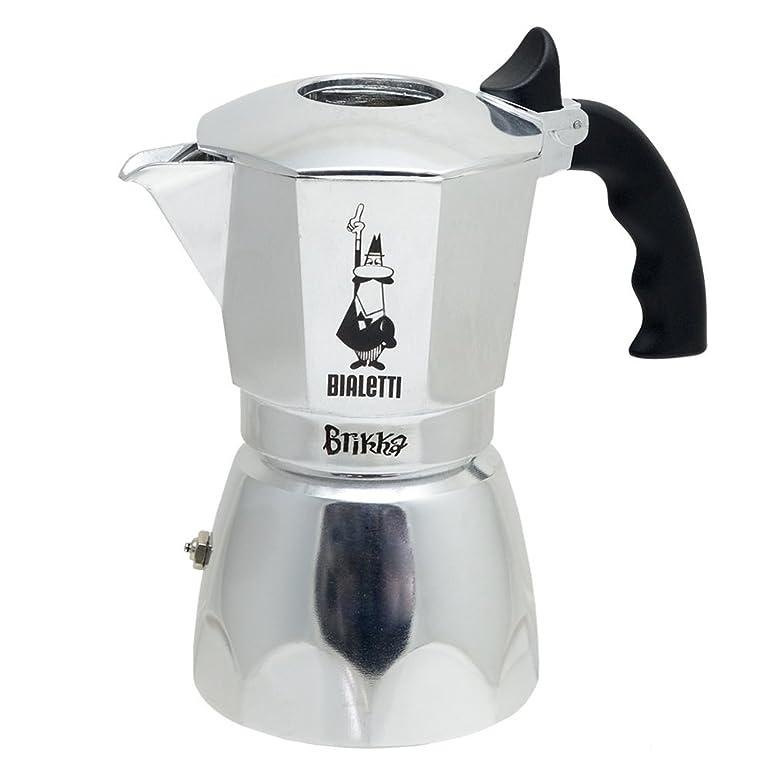 Bialetti Brikka 4 Cup Espresso Maker with Cream Valve: Amazon.co ...