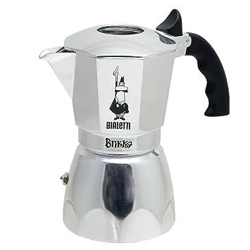 Espressokocher  Bialetti Brikka 4 Tassen Espressokocher mit Cremaventil: Amazon.de ...