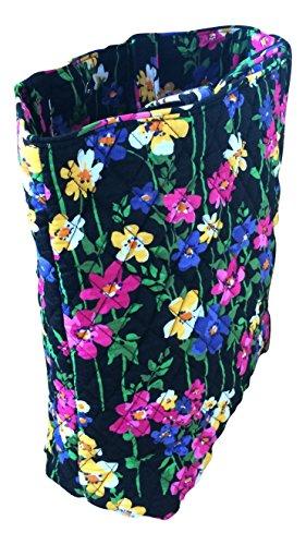 with Solid Bradley Vera Turtles Updated Version Wildflower Tote Garden Color Interior Sea qRHxwOExt