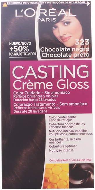 CASTING CREME GLOSS #323-chocolate negro: Amazon.es: Salud y ...
