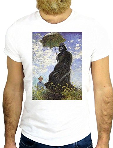 T SHIRT JODE Z1774 DEATH SUN FLOWER UMBRELLA FUNNY COOL FASHION NICE GGG24 BIANCA - WHITE XL