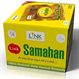 100 Link Samahan Ayurvedic Herbal Tea Packets Sri Lankan