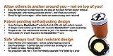 Elastatether (Tm) Self-Adjusting Anchor Marker Buoy
