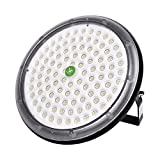 Viugreum 100W LED High Bay Lighting,UFO Warehouse Lights,10000LM,Daylight White (6000K) Commercial Industrial Chandelier for Factory,Workshop,Gymnasium,Basement Parking,Warehouse,Commercial Premise