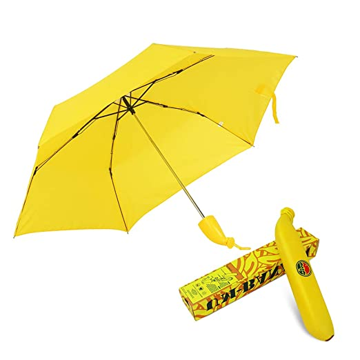 Banana Folding Yellow Umbrella