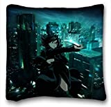 Custom Characteristic ( Anime Kara No Kyoukai ) Pillow Covers Bedding Accessories Size 16