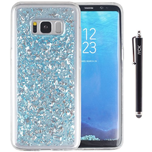 s8-case-galaxy-s8-case-iyck-luxury-bling-glitter-sparkle-gold-foil-embedded-transparent-flexible-sof