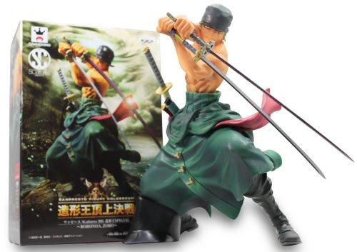 One Piece scultures big zoukeioh special Roronoa Zoro BANPRESTO