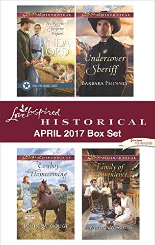 book cover of Harlequin Love Inspired Historical April 2017 Box Set