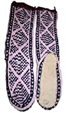 66 Agan Traders Mukluk Wool Rayon Sock Slipper (L, Pink)