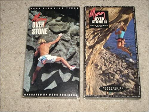 MOVING OVER STONE + MOVING OVER STONE II - Both VHS Video Cassettes (NTSC) sold together in set: Doug Robinson: Amazon.com: Books