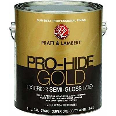 Pratt & Lambert Pro-Hide Gold Semi-Gloss Latex Exterior House Paint