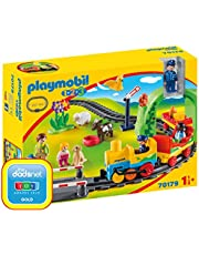 Playmobil 1.2.3 70179 Mijn Eerste Trein, vanaf 1,5 jaar, 1 stuk