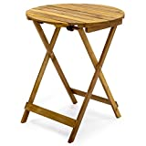 Best Choice Products 3-Piece Acacia Wood Folding