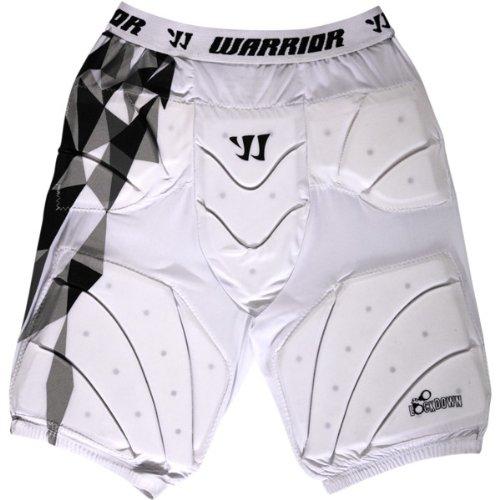 Warrior Lockdown Leg Pads (X-Large, White)
