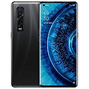 Original Oppo Find X2 Pro X2PRO 12G+256GB 5G MobilePhone Snapdragon865 Android10 120HZ 6.7'OLED 48MP 65W Charger NFC IP68 Global Warranty Cellphone by-(Real Star Technology) (Black (Ceramic))