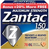 Zantac 150 Maximum Strength Tablets, 78 Count